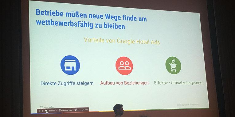 Google drängt noch tiefer ins Tourismusgeschäft